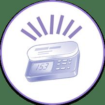 bomba nutrición enteral con alarma